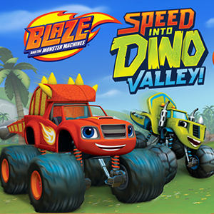 Blaze and the Monster Machines: Speed Into Dino Valley