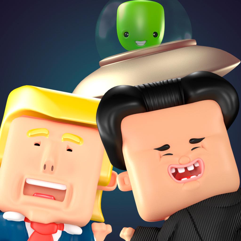 Game STOP Trump vs Kim Jong-Un
