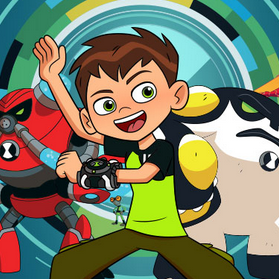 Game Ben 10: Upgrade Chasers
