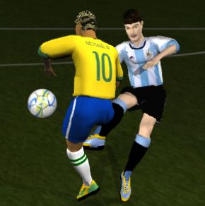 Game Brazil vs Argentina 2017/18