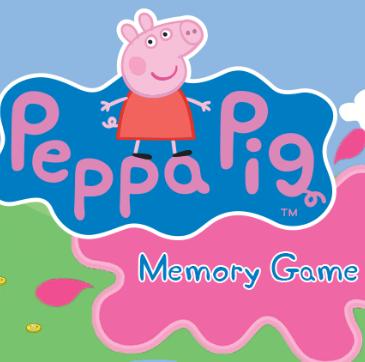Game Peppa Pig - Peppa Memory