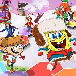 Game Nickelodeon: Winter Spin & Win