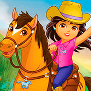 Dora and friends lost Horses