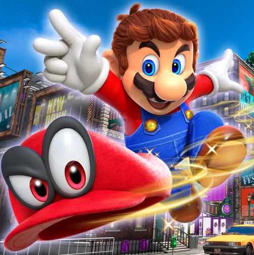 Game Super Mario Odyssey
