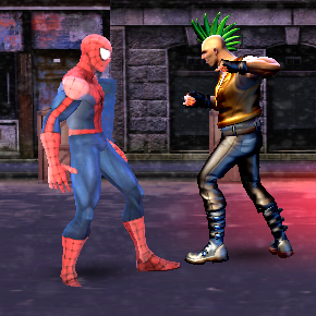 Game Spider Hero Street Fight