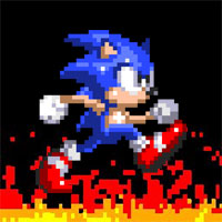 Game Sonic Burned Edition