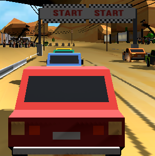 Game Pixel Rally 3D