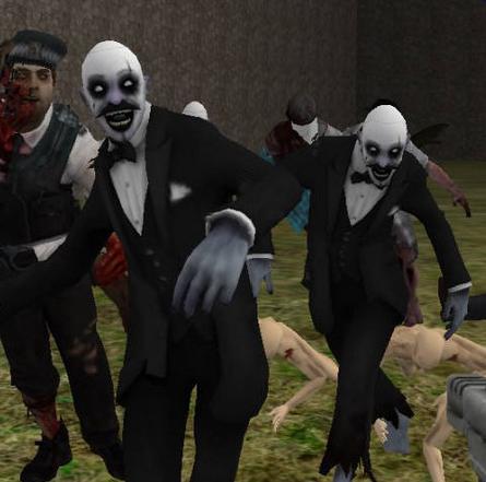 Game Realistic Zombie Survival Warfare