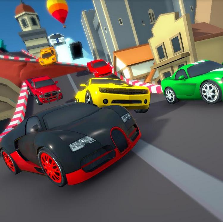 Game Cartoon Mini Racing
