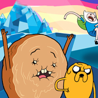 Game Adventure Time - One Sweet Roll