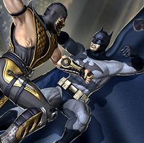 Game Bat Hero Immortal Legend Crime Fighter