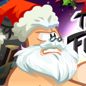 Game Thumb Fighter Christmas Edition