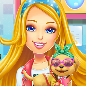 Game Barbie Pup Rescue