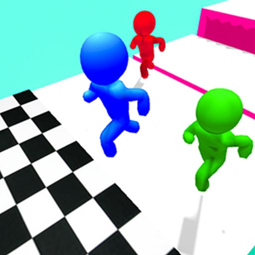 play Stickman Race 3D