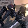 Spider Robot Warrior Web