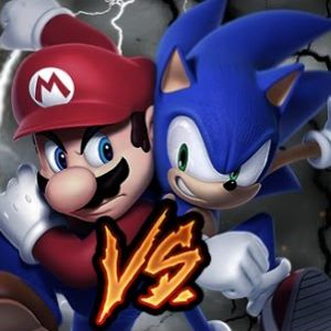 Mario Vs Sonic Exe Play Game online Kiz10 com - KIZ