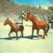 Winter Horse Simulator