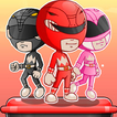 Power Rangers adventure d