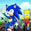 Bart against Sonic