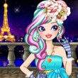 Marlen in Paris Game Online kiz10