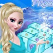 Frozen Elsa Crystal Match Game Online kiz10