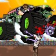 Monster Truck Zombie Game Online kiz10