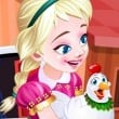Frozen Anna Poultry Care Game Online kiz10