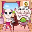 Baby Angela Playing Piano Game Online kiz10