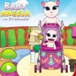 Baby Angela in Stroller Game Online kiz10
