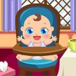 Newborn Baby Care Game Online kiz10