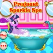 Pregnant Sparkle Spa Game Online kiz10