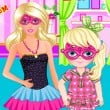 Barbie Super Mom Game Online kiz10