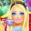 Barbie Wonderland Looks Game Online kiz10