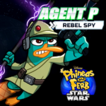 Phineas and Ferb (Star Wars) Agent P: Rebel Spy Game Online kiz10