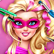 Super Barbie Real Haircuts Game Online kiz10
