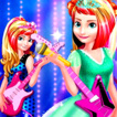 Elsa and Anna Royals Rock Dress Game Online kiz10
