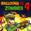 Balloons Vs Zombies 4 Game Online kiz10