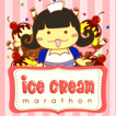Ice Cream Marathon Game Online kiz10