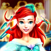 Ariel Sea Princess Hairdresser Game Online kiz10