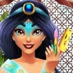 Jasmine Fun Skin Care Game Online kiz10