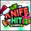 Knife Hit Xmas Game Online kiz10