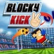 Play game online Blocky Kick 2