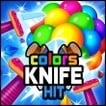 Knife Hit Colors Game Online kiz10