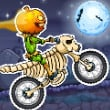 Play game online Moto X3M Spooky Land