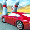Play Crazy Car Crash Stunts Bowling Edition Game Online